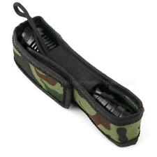 Camouflage C8 18cm Holster Pouch Bag Case for LED Torch Flashlight BYWG