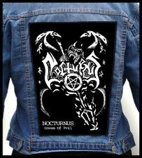 NOCTURNUS - Coven Of Evil  --- Huge Jacket Back Patch Backpatch