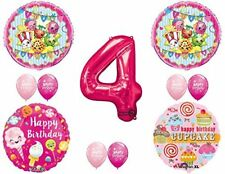 SHOPKINS 4th BIRTHDAY PARTY Balloons Decorations Supplies kit