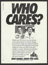 Motorcycle Industry Council-RIDE AWARE-1982 Vintage Print Ad