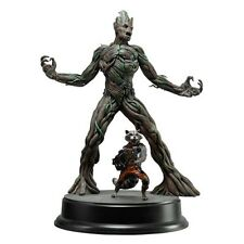Dragon Action Hero 1/9 Rocket And Groot Figure Guardians Of The Galaxy UK