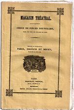 Pièce Théâtre. Paris, Orléans et Rouen. Bayard et Varin. Palais-Royal, 1843.