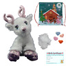 """PINK SPARKLY REINDEER - BUILD YOUR OWN TEDDY BEAR MAKING KIT - 16""""/40cm - NO SEW"""