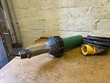 Leister Triac Hot Air Welder  Gun Good Working Order No Reserve 110v