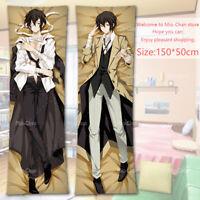 Anime Stray Dogs Cosplay Dakimakura Pillow Case Cover Hug Body Gift 150*50CM#154