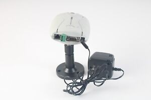 Axis Communications 2100 Network Camera 0106-001-01 With Pole and Power Supply