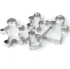 Tala Gingerbread Family Man Cookie Cutter Stainless Steel Biscuit Pastry Icing