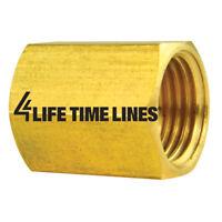 1//4-28 Bag of 2 1//4 Hex 4LIFETIMELINES Stainless Steel Brake Bleeder Screw