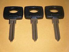 MERCEDES BENZ Ignition 3 Key Blanks 1973-1979 280 350 450 SL SEL SEC D SE  MB15P