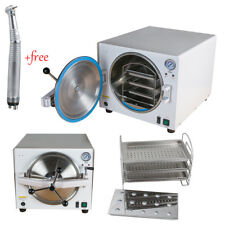 18L 900W Dental Lab Autoclave Steam Sterilizer Equipment Medical Stainless FDA++