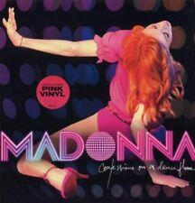 MADONNA CONFESSIONS ON A DANCEFLOOR LP VINYL  NEW  LTD ED PINK LP VINYL