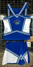 Real Authentic Blue White Florida Gators Cheerleading Cheer Teamwork Uniform