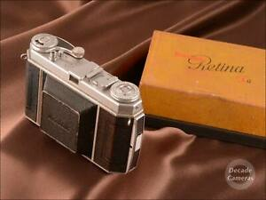 Kodak Retina 1A S.Krz. Xenar 50mm f3.5 35mm Folding Camera inc Orig. Box - 254