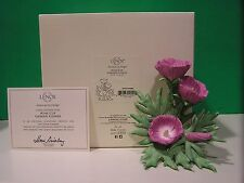LENOX WINE CUP Garden Flower Figurine NEW in BOX with COA