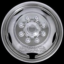 "1 Single Front 03-16 DODGE RAM 3500 17"" Wheel Simulators Dual Rim Liners Covers"