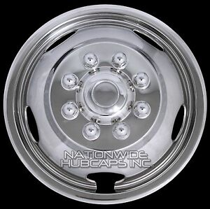 "1 Single Front for DODGE RAM 3500 03-19  17"" Wheel Simulators Dual Liners Covers"