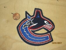 "Vancouver Canucks 3 3/4"" Patch 1997-2007 Primary Logo Hockey"