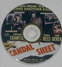 FILM NOIR 33: SCANDAL SHEET (1952) Phil Karlson, Broderick Crawford, Reed, Derek