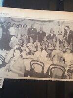 B1-4 ephemera 1961 picture children party united services club margate