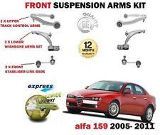 FOR ALFA ROMEO 159 2005-> 2X UPPER LOWER WISHBONE SUSPENSION ARMS + LINKS BARS