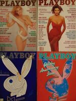 Playboy Holiday Anniversary Issue | January 1986 1987 1990 1991    #4023
