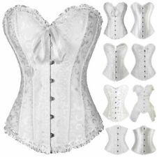 Lace Up White Basques & Corsets for Women