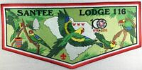 OA 116 Santee Lodge J7 Centennial Jacket Flap 2015 Issue [PD161]