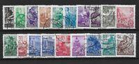 GERMANY East. 1953 SG120-137 fu & cto mix Cat £80