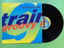 "The Farm - Groovy Train, Produce Records MILK-102T Ex+ A1/B1 Press 12"" Single"