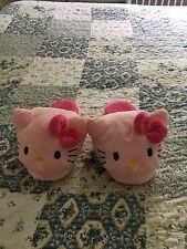 HELLO KITTY SLIPPERS BOUGHT AT UNIVERSAL STUDIOS AUTHENTIC SIZE L