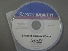 Saxon Math, Intermediate 4 Student Edition eBook CD 2007   1600324274