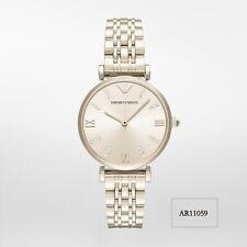 Emporio Armani Dress Bracelet Stainless Steel Women's Watch AR11059