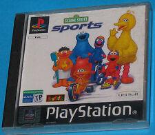 Sesame Street Sports - Sony Playstation - PS1 PSX - PAL