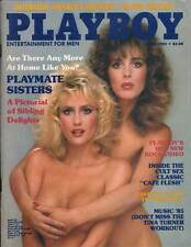 US PLAYBOY 1985/04[April 4/85]Natalie&Donna Smith*Cindy Brooks*Wayne Gretzky*TOP
