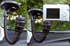 "CAR 11"" WINDSHIELD/WINDOW SUCTION MOUNT FOR FLIP CONTOUR/DRIFT HD SAMSUNG CAMERA"