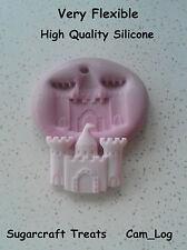 Château de princesse médiévale Silicone moule moule, Sugarcraft, gâteau décoration artisanat