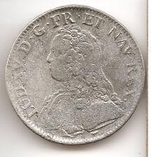 France 1 ecu 0.900 Silver coin 1730 A Ludovic XV VF