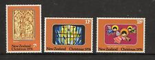 New Zealand 1976 Christmas unmounted mint set of stamps