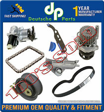 CAMSHAFT TIMING CHAIN TENSIONER + CHAIN GASKET + WATER + PUMP BELT FOR VW KIT 8