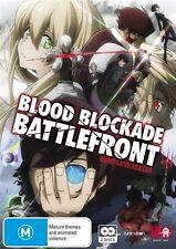 Blood Blockade Battlefront Complete Series NEW R4 DVD