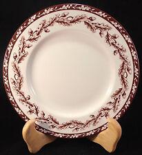 Wedgwood Plymouth Salad Plate Williams Sonoma Oak Leaves Acorns Lattice Josiah