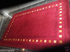PACIFIC, BRAND NEW, HAND-MADE, FINE WEAVE, THICK, WOOL RUG...6' x 4'...FREE DEL