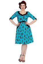 V-Neck Party Animal Print Regular Size Dresses for Women
