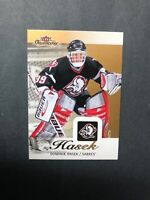 2013-14 Fleer Showcase Base #11 Dominik Hasek
