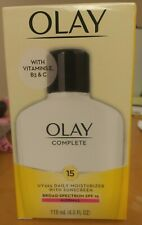 Olay Complete Daily Moisturizer SPF15 Broad Spectrum Normal Skin Expires 9/2020