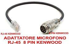 ADATTATORE MICROFONO DA RJ-45 KENWOOD a 8 PIN KENWOOD  NUOVO