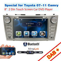 "for Toyota Camry Aurion 8"" Head Unit GPS Navigation Car Radio DVD Bluetooth USB"