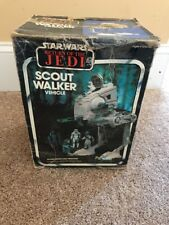 Vintage Kenner Star Wars 1982 The Empire Strikes Back Scout Walker Complete