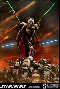 Sideshow Collectibles General Grievous Exclusive 1/6 Figure, New, Sealed Shipper