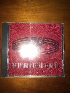VAN HALEN : FOR UNLAWFUL CARNAL KNOWLEDGE  (1991, CD, WARNER BROS RECORDS)